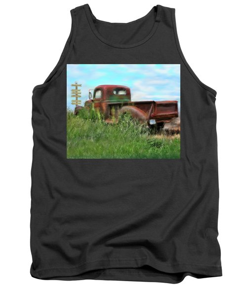 Rusted Not Retired Tank Top