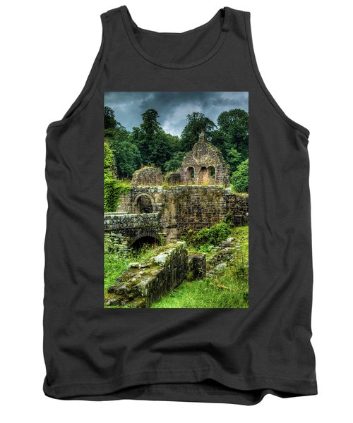 Rustic Abbey Remains Tank Top