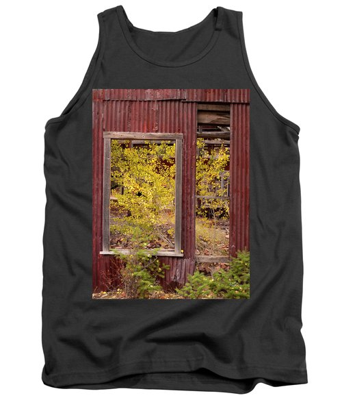 Rustic Autumn Tank Top by Leland D Howard