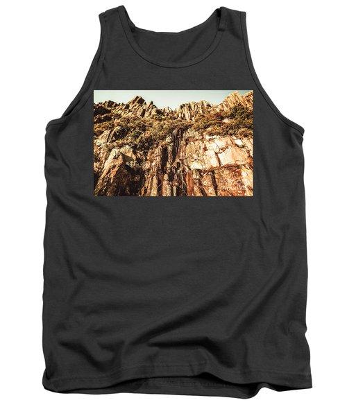 Rustic Cliff Spring Tank Top