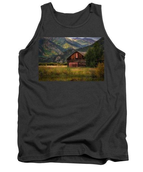 Rustic Colorado Barn Tank Top