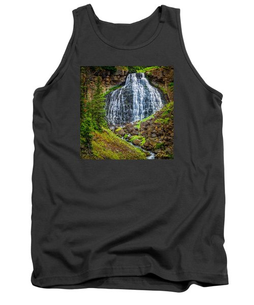 Tank Top featuring the photograph Rustic Falls  by Rikk Flohr