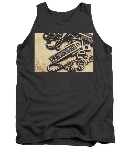 Rustic Love Icons Tank Top