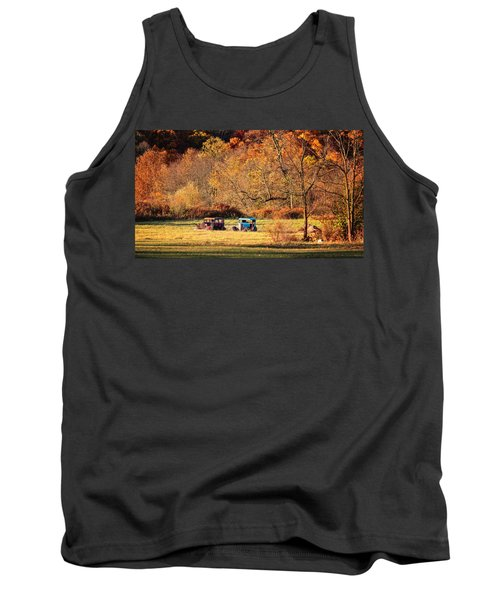 Tank Top featuring the photograph Rusty And Oldie by Eduard Moldoveanu