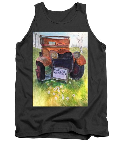 Rusty Old Relic Tank Top