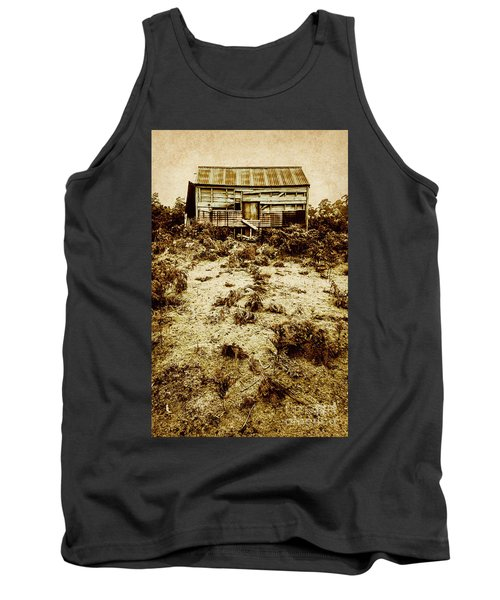 Rusty Rural Ramshackle Tank Top
