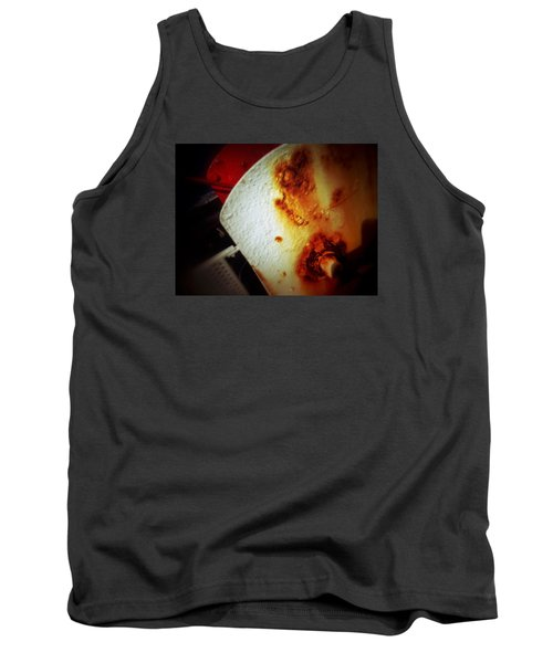 Tank Top featuring the photograph Rusty Winch by Olivier Calas