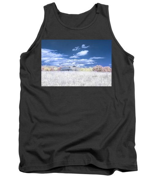 S C Upstate Barn Faux Color Tank Top