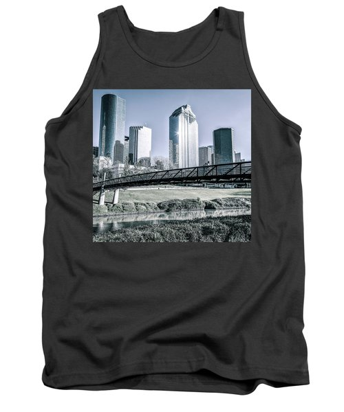 Sabine Promenade Over Buffalo Bayou Tank Top