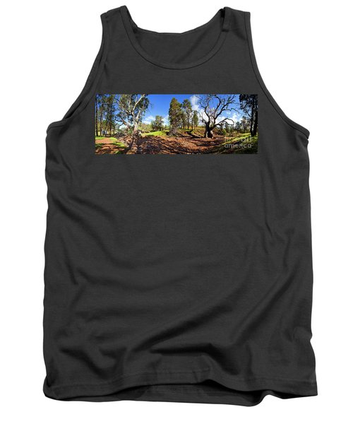 Sacred Canyon, Flinders Ranges Tank Top by Bill Robinson