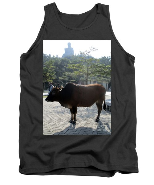 Tank Top featuring the photograph Sacred Cow 3 by Randall Weidner