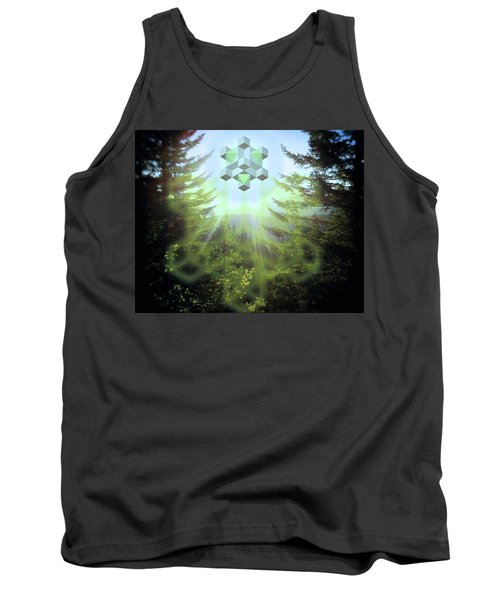 Sacred Forest Event Tank Top by Milton Thompson