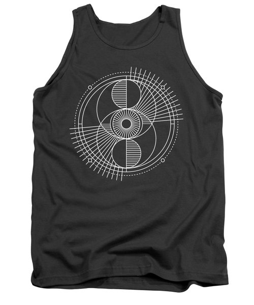Sacred Geometry All Seeing Eye And Universe Tank Top