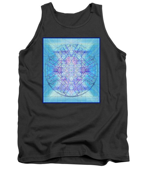 Tank Top featuring the digital art Sacred Symbols Out Of The Void A3c by Christopher Pringer