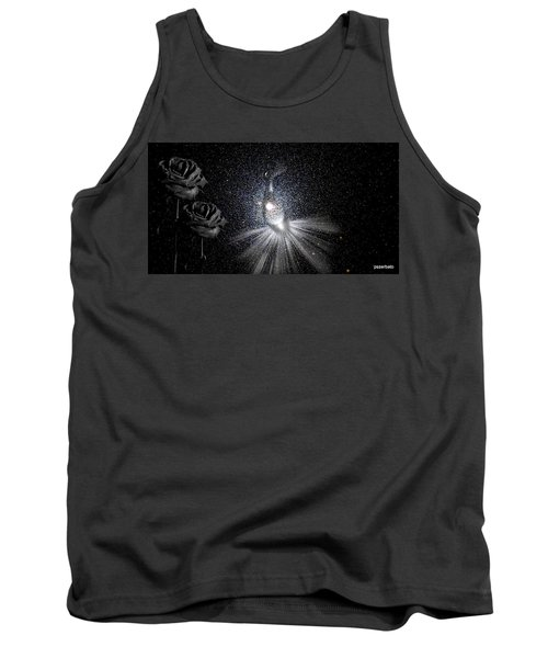 Sadnesses Are Beauties Erased By Suffering Tank Top by Paulo Zerbato
