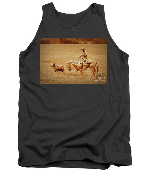 Safely Home Tank Top by Myrna Bradshaw