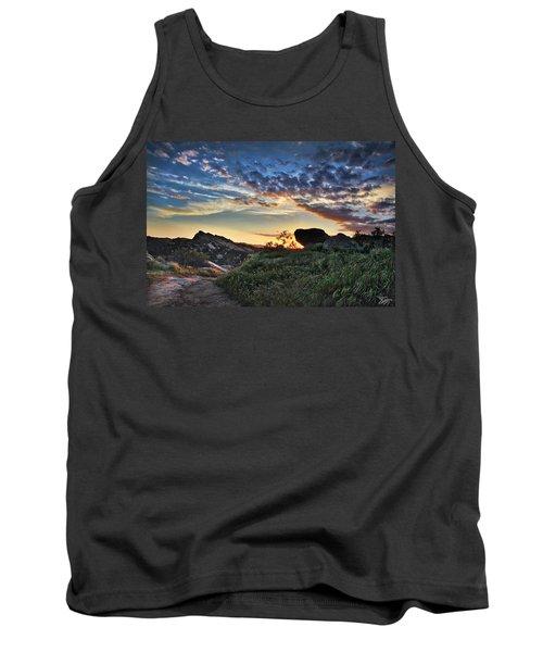 Sage Ranch Sunset Tank Top