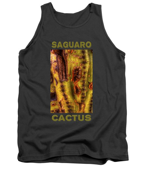 Saguaro Detail No. 24 Tank Top