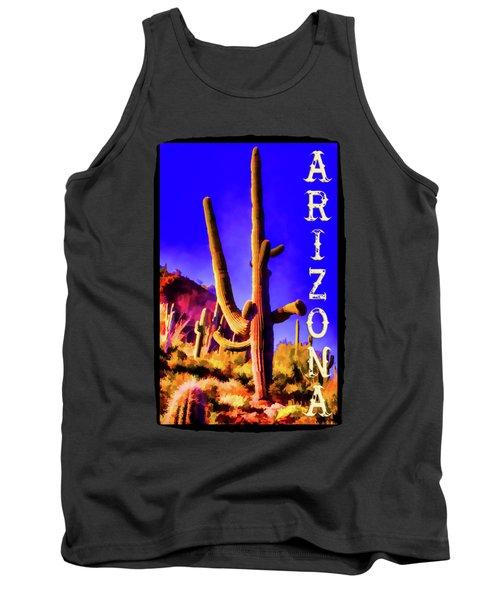 Saguaros Everywhere Tank Top