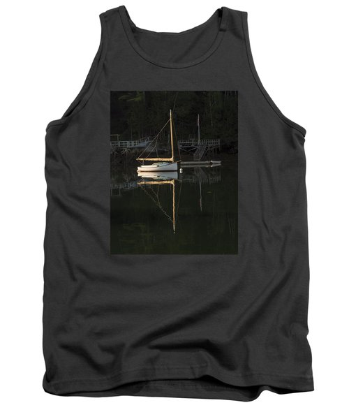 Sailboat At Rest Tank Top