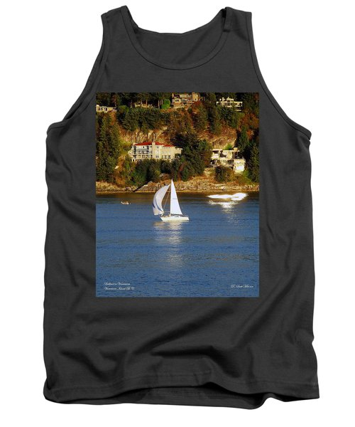 Sailboat In Vancouver Tank Top