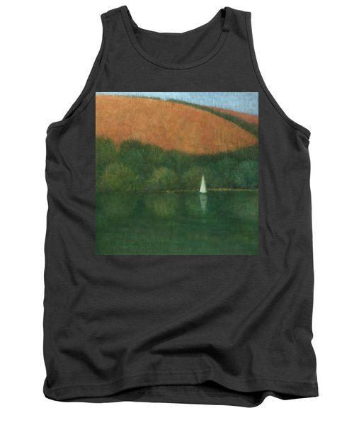 Sailing At Trelissick Tank Top by Steve Mitchell