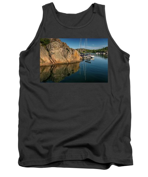 Sailing In Sweden Tank Top by Martina Thompson