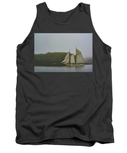 Sailing In The Mist Tank Top