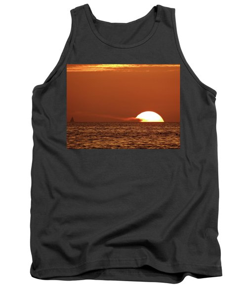 Sailing In The Sunset Tank Top
