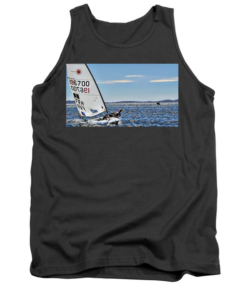 Sailing Ship  In Marseille Tank Top