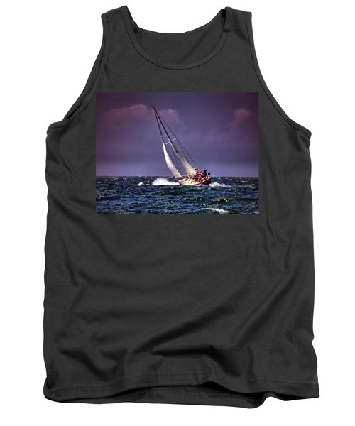 Sailing To Nantucket 001 Tank Top