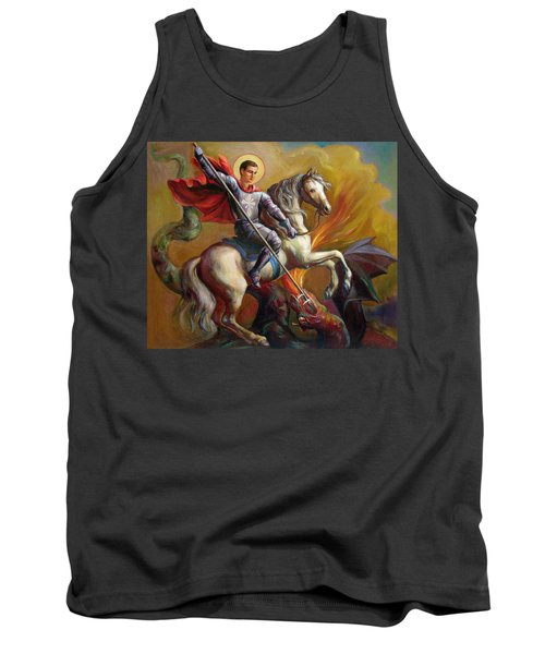 Saint George And The Dragon Tank Top
