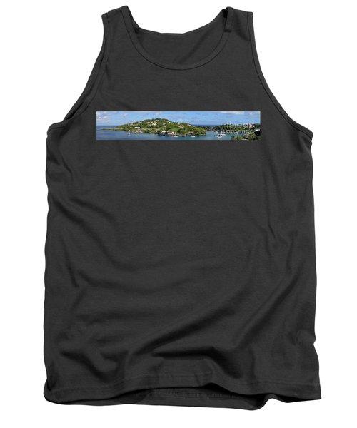 Saint Lucia Panorama Tank Top