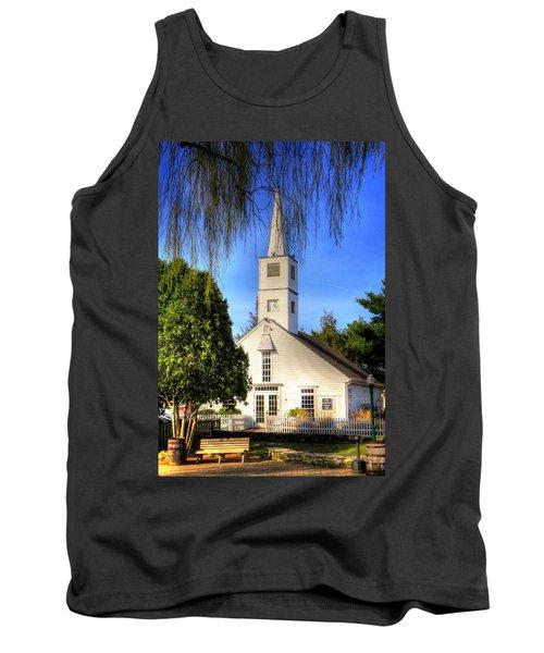 Tank Top featuring the photograph Saint Mathais Angelican Church by Tom Prendergast