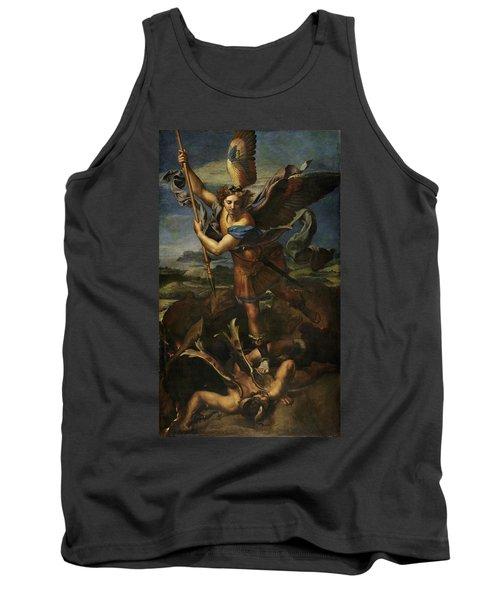 Saint Michael Defeats Satan Tank Top