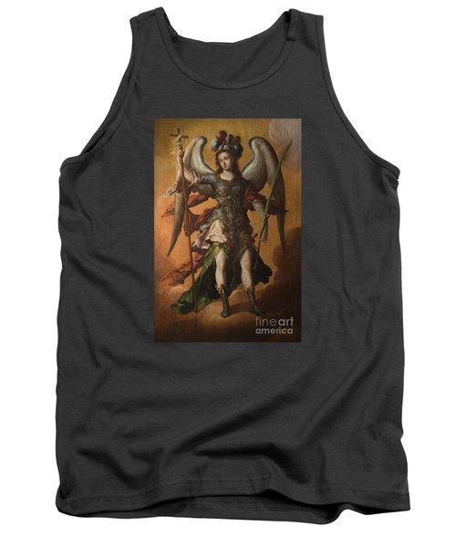 Saint Michael The Archangel Tank Top