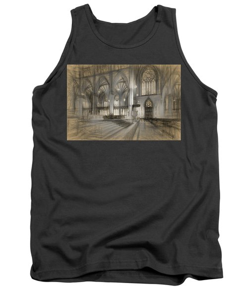 Saint Patrick's Cathedral In New York City Tank Top