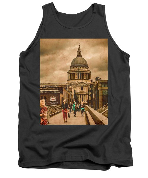 London, England - Saint Paul's In The City Tank Top