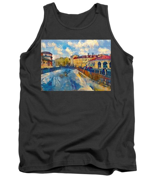 Saint Petersburg Winter Scape Tank Top