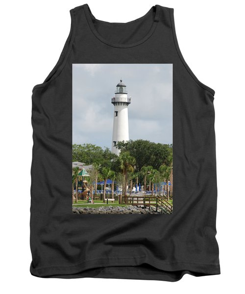 Saint Simons Island Light Tank Top