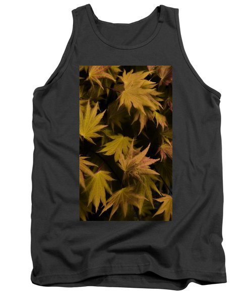 Japanese Autumn  Tank Top by Mike Nellums