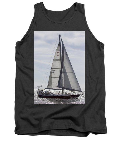 Saling Yacht Valkyrie Charleston Sc Tank Top