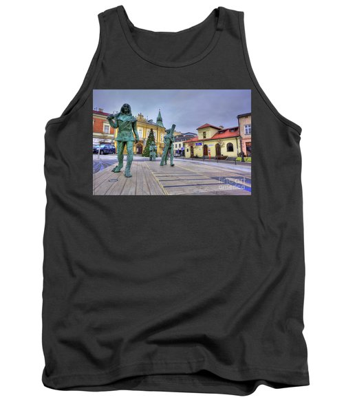 Tank Top featuring the photograph Salt Miners Of Wieliczka, Poland by Juli Scalzi
