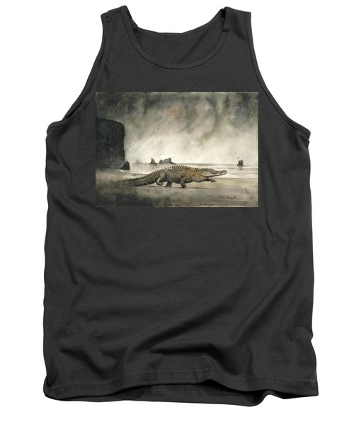 Saltwater Crocodile Tank Top