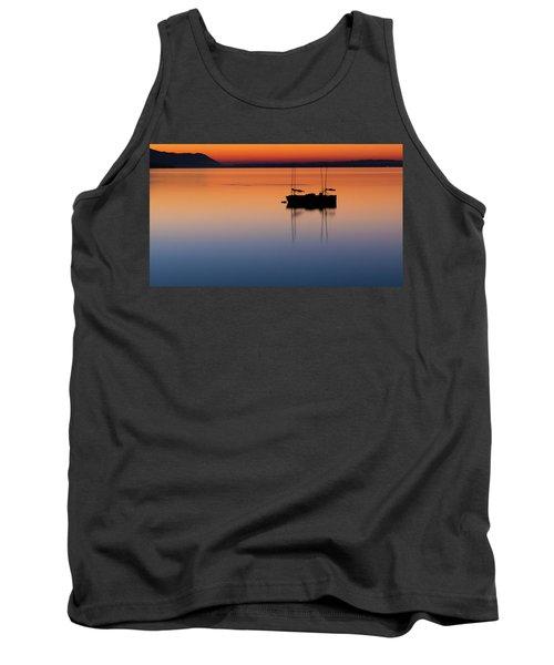 Samish Sea Sunset Tank Top