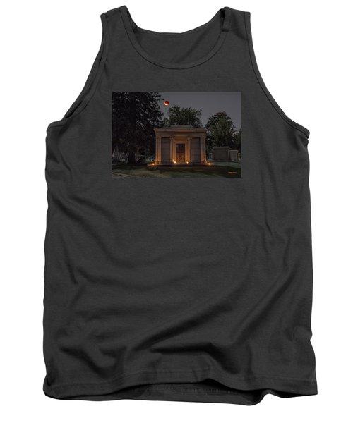 Samuel D. Nicholson Mausoleum Under The Blood Moon Tank Top by Stephen  Johnson