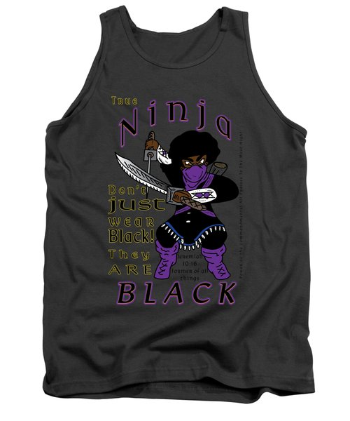 True Ninja Tank Top