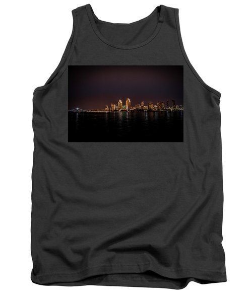 Tank Top featuring the photograph San Diego Harbor by John Johnson