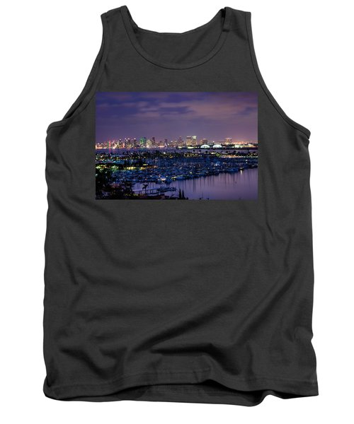 San Diego Skyline 4 Tank Top
