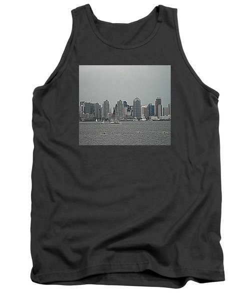 San Diego Waterfront Tank Top